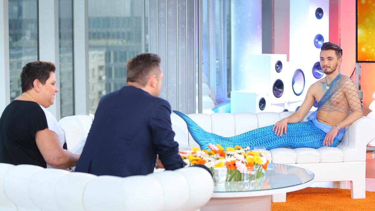 Ariel Syren i prowadzący Dzień Dobry TVN